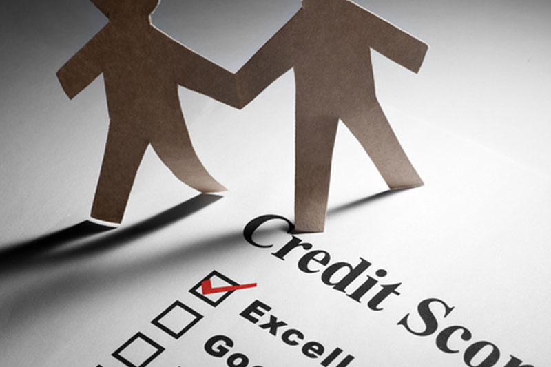 List of credit score ratings from Excellent to Poor, with the Excellent box ticked, for the Credit Bureau Report Singapore